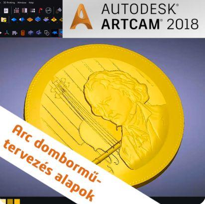 ArtCAM dombormű tervezés alapok