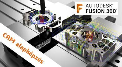 Fusion 360 CAM - 2D Alapképzés
